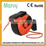 Export to Cananda 3/8 inch PVC hose plastic auto retractable air hose reel