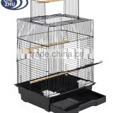 "Best Choice Products Pet Supplies 24"" Bird Cage W/ Open Play Top Bird Cage- Ideal For Parakeets, Small Birds"
