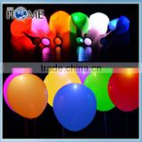 New led latex balloon factory wholesale party decortion glow in the dark led balloon
