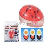 Brand New Wholesale Price Color Changing Eggtimer Clock Perfect Boiled for Eggs Kitchen Cook Tool factory sale