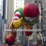 Clown Cartoon Custom Shaped Balloons Giant Advertising For Celebration