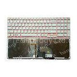 Sony Vaio SVE151 US Laptop Keyboard Layout , LED Backlight Keyboard With Pink Frame