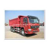 336 HP heavy duty dump truck sand tipper truck middle lifting type 15 m3 tank body