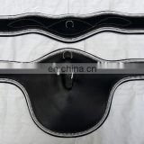 Horse Riding Leather Girth / black Horse Riding Leather Stud Guard belly Girth / Horse Riding Leather
