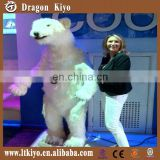 2016 shopping mall mechanical animals moving simulation the polar bear