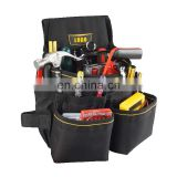 600D wholesale multifunctional belt tool bags electricians