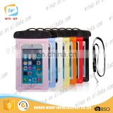 wholesale PVC mobile cell phone waterproof cover waterproof phone bag