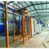 Metal powder coating spray line for sale