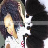 china hair factory 10a grade afro curly brazilian hair bundles