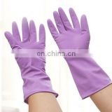 world house cleaning rubber gloves/purple rubber gloves