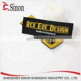 Garment Labels Product Type and Garment,Shoes,Bags,hats,blankets,etc Use woven labels for clothing