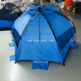 Beach Tent Umbrella Cabana Pop Up Sun Shade Portable Camping Hiking Easy Set Up Light Weight Windproof 3 Person