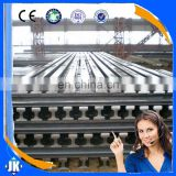 Tangshan China light steel rail for narrow gauge electric locomotives 22kg/m