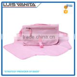 Fancy Pink Easy Clean Portable Diaper Changing Pad