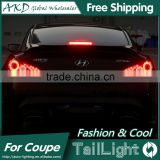 AKD Car Styling Tall Lamp for Coupe DRL New Coupe LED DRL 2016 Coupe LED Tail Light Good Quality LED Fog lamp