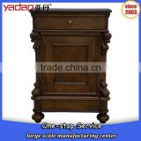 bedside nightstand table antique luxury hotel furniture for sale                                                                         Quality Choice