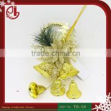Christmas Ornament Navidad Hogar Merry XMAS Hanging Tree Decorations Jingle Bells Suppliers