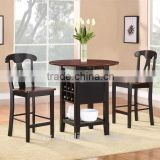 DT-4077 Enchanting Pub Style Dining Sets Minimalist Wooden Table And Chairs                                                                         Quality Choice
