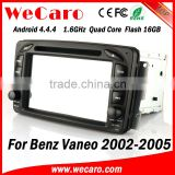 Wecaro WC-MB7507 Android 4.4.4 indash for Benz vaneo car cd mp3 player 2002 - 2005 BT gps 3g TV