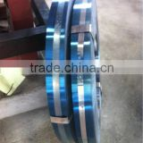 Blue polished hardened and tempered carbon steel strip