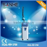 2.6MHZ 15W(20W) CO2 Fractional Laser Cosmetic Equipment For Effective Scar Removal Treat Telangiectasis Intense Pulsed Flash Lamp