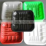 China made meat packing pp water-absorbing fresh tray