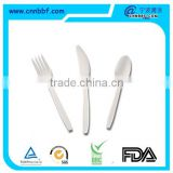 Three piece plastic cutlery/High quality plastic cutlery/Bulk disposable cutlery/plastic cutlery