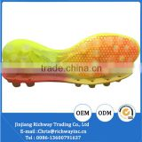 colorful TPU shoe sole football outsole