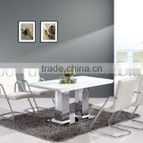 Modern White Marble Dining Table Elegant Dining Room Furniture(SZ-DT102C)