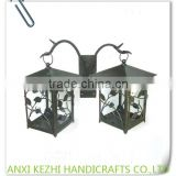 LC-77104 Wrought Iron Decorative Hanging Candle Lantern                                                                         Quality Choice