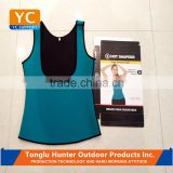 Slimming neoprene vest hot sweat shirt body shapers belt for weight loss women