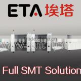 pick and place machine,LED SMT whole solution ( LED SMT solder paste printer+ conveyor+reflow oven )