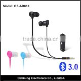 Sports minion stereo sound bluetooth earphone and headphone with TF card and speaker(OS-ST810)                                                                         Quality Choice