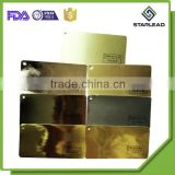 Golden metallic metallized aluminum foil laminated wrapping paper                                                                                                         Supplier's Choice