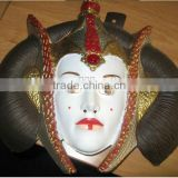 Fashion plastic art craft party decoration face mask