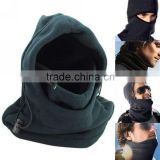New Double Layers Thicken Warm Full Face Cover Winter Ski Mask Beanie Cs Hat Black