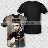 New customized sublimation t-shirt/all over sublimation printing t-shirt/dye sublimation t-shirt printing BI-3065