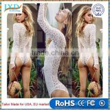 Women Sexy Mesh Swimwear Bathing Monokini Push-Up Padded Bikini swimSuit Set