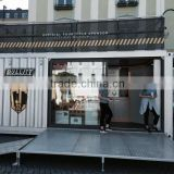 POP-UP the container store design, Hydraulic system mobile container store                                                                         Quality Choice