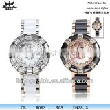 SP-1711 new design colors ceramic watch case stainless steel back