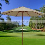 Garden Umbrella with Wooden Pole