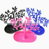 Display plastic tree/ beautiful plastic jewelry tree