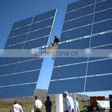 Flat type UV-resistant 1.1mm 3.2mm 4mm High Reflectivity CSP Solar Mirror for solar power plant