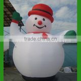 Big Cheap christmas inflatable snowman H9-0038