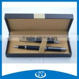 High Quality Business Gift Leather Pen Set, Leather Pen With Box                                                                         Quality Choice