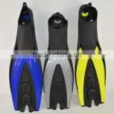 A standard scuba diving equipment diving fins Adult free diving fins best selling swimming fins