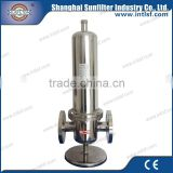 40bar hight pressure hape sterilizing compressed air filter for PET bottle blowing industry