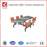 High Quality 6 Chairs Fast Food Restaurant Table and Chairs, Cheap Dining Table and 6 chairs, School Tables and Chairs