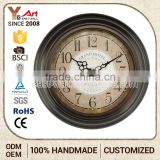 Premium Quality Antique Style Wall Clocks With Company Logo Clock Metal Bell