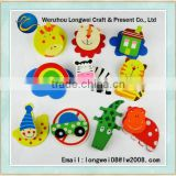 dramatic animals fridge magney/nursery school fridge magnet/soft pvc custom fridge magnets